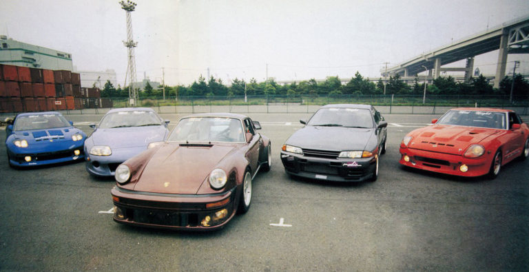 Cars of Mid Night Club from AutoWorks magazine