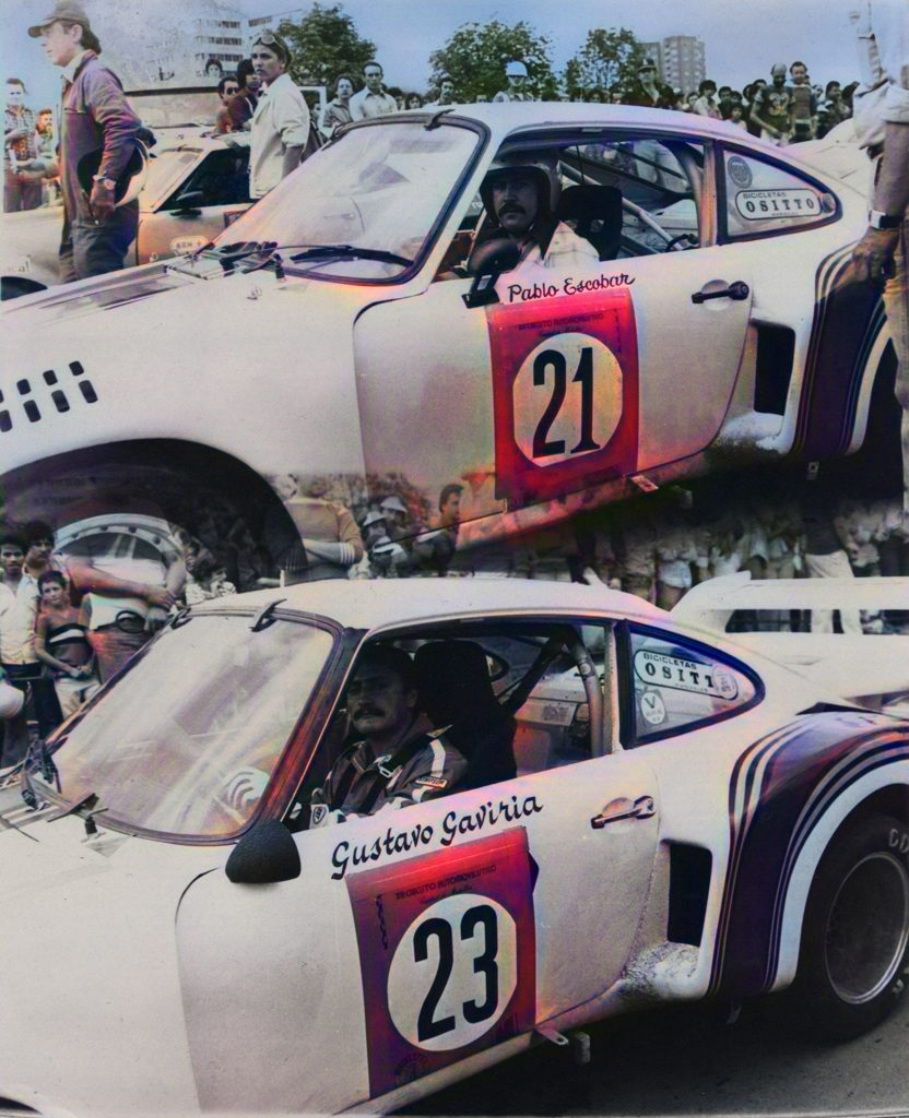Pablo Escobar's cars and weird racing career: $2M Porsche and sabotaging rivals on the track.