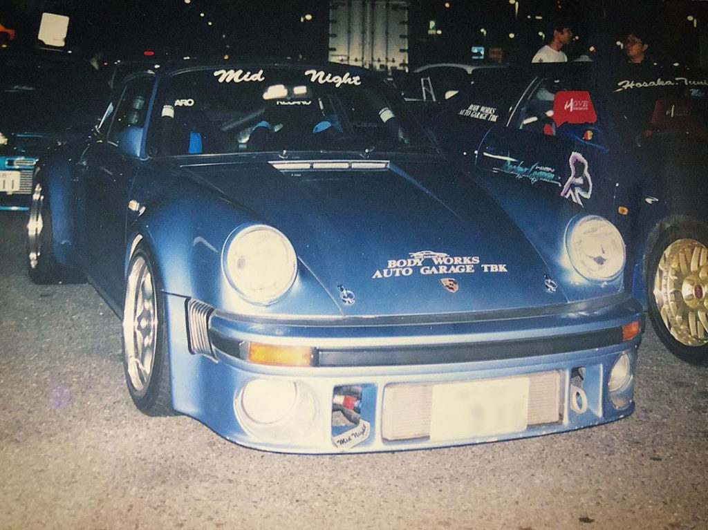 The Yoshida specials 930 turbo, Mid Night Club members Porsches and new chairman.